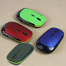 New 2.4G Cordless USB Wheel Optical Wireless Mouse Mice For PC Laptop