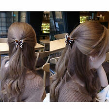 Hot Crystal Butterfly Rhinestone Claw Hairpin Women Hair Clamp Accessory Clip