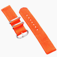Nylon Fabric Canvas Wrist Band Strap 20mm 22mm Military 7 Colors Hot Sales Top
