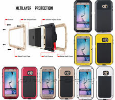 Shockproof Aluminum Gorilla Metal Durable Case Cover For Samsung /iPhone Model