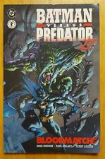 BATMAN VS PREDATOR II BLOODMATCH  - DC COMICS - DARK HORSE COMICS - RARE PRINT