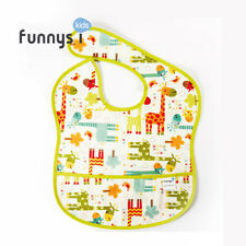 Funny Kid Waterproof bib / Giraffe waterproof bib / Waterproof bib / 100% cotton