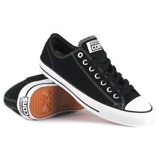 Cons Shoes CTAS PRO Low Lunarlon Suede Black White Converse Skateboard Sneakers
