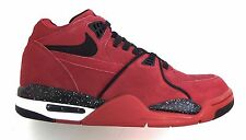 Nike Men's AIR FLIGHT '89 Shoes Red/Black/White 306252-600 a2