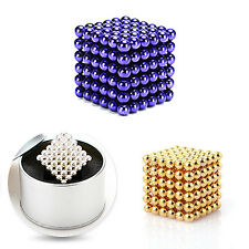 5mm 216pcs Magnet Balls Magic Beads 3D Puzzle Ball Sphere Magnetic toy for child