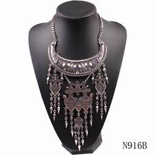 new statement big chunky alloy bead pendant necklace jewelry wholesale for women