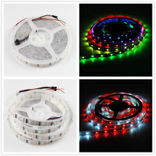 1M/5M WS2812B WS2801 WS2811 LED 5050 RGB Fixel Strip Light Full Color  5V 12V DC