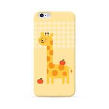 Ultra Case Cute Giraffe Yellow Hard Soft Case for iPhone 6 6s plus 4 5 5S SE