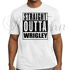 Chicago Cubs 2015 Straight Outta Wrigley Playoff Tee T-Shirt T Shirt