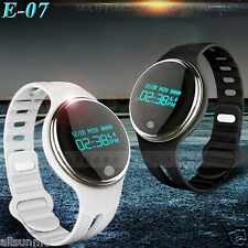 E07 Waterproof BT 4.0 GPS Smart Bracelet Watch Monitor Sport Healthy Pedometer