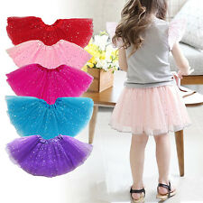 Superior Girls Kids Party Ballet Dance Wear Star Tutus Skirt Pettiskirt Dress