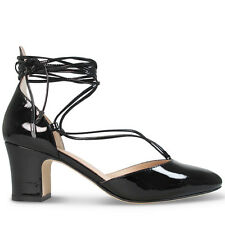 Wittner Ladies Shoes Black Patent Heels