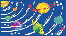 Kids Play Rug / Matt - 1000mm x 1500mm - Planets