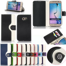Luxury Magnetic Wallet Leather Case Card Slot Book Flip Pouch Stand Holder Cover