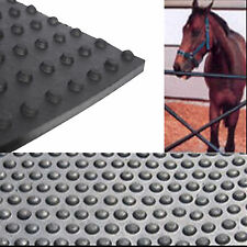 Rubber Stable Mat / Mats Bubble Top Stud Back  6 FT x 4 FT X 17 MM Thick