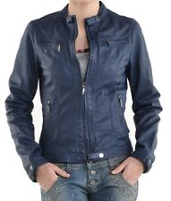 NEW Womens 100% Leather Lambskin Jacket Coat, Made to your Measurements - WJ156