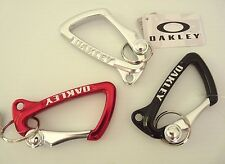NEW LARGE OAKLEY CARABINER  KEY CHAIN KEYCHAIN LANYARD ASS COLORS 99173