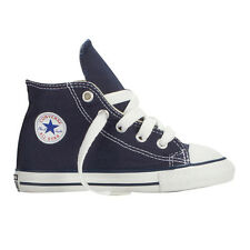 CONVERSE ALLSTARS HI TOPS FOR BABIES AND TODDLERS BLUE COLOUR UK SIZES
