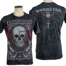 Wornstar Apparel Rock Clothing Hail Skull T Shirt