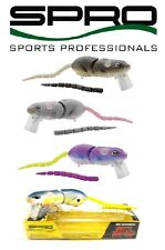 SPRO BBZ-1 RAT 40 WAKEBAIT SWIMBAIT BASS STRIPER MUSKY LURE SELECT COLORS