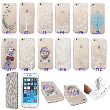 Ultra Thin Clear Gel Back TPU Case/Cover Transparent Crystal Soft Silicone Skin