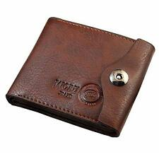 Men Hasp Wallet Leather Purse Trifold Wallets For Man Card Holders Money Bag