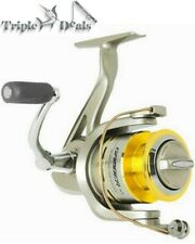 New Silstar Gamber Fishing Reel - Spinning Reel with 2 Stainless Ball Bearings