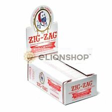 Cigarette Rolling Papers ( Zig Zag White Kutcorners ) Made In France Z
