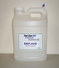 2.7 Gallon Reusable Diesel Exhaust Fluid DEFJUG with DEFSPOUT by Five Star DEF