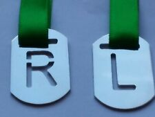 X-RAY MARKERS R&L ANATOMICAL MARKERS WITH GREEN RIBBON
