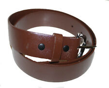 "HEAVY DUTY COW LEATHER BELT HANDMADE_BELTS_MENS_1.4"" BROWN"