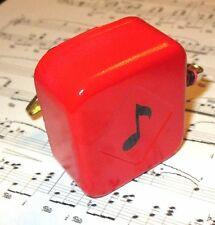 Scarlet Red Music Box Movement - 18 Note - Many New Songs - A through F
