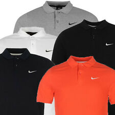 Mens Tennis Polo Shirt Nike 100% Pique Cotton Genuine UK Stockist