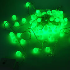 10m 100 Matte Ball  LED String Wedding Party Fairy Christmas Light multicolor