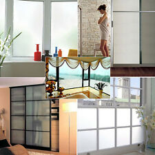 New Waterproof PVC Privacy Frosted Home Bedroom Bathroom Window Glass Film Decor