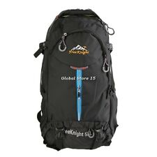 55L Mountaineering Bag Double Backpack Outdoor Travel Hunting Camping  GS