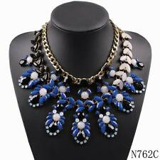 new arrival fashion brand resin chain link bib chunky statement pendant necklace
