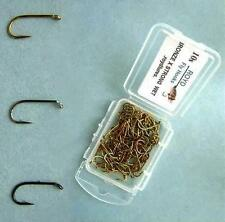 Royd: 100 BOXED FLY TYING HOOKS. WET HOOKS. Bronze, Black Nickel, Black