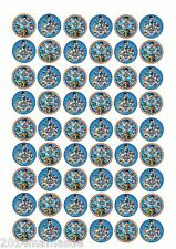 50 x PAW PATROL PUPPY BIRTHDAY FAIRY CAKE CUPCAKE TOPPERS WAFER CARD RICE PAPER