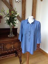 Lovely Over Shirt by Joules. Size 18