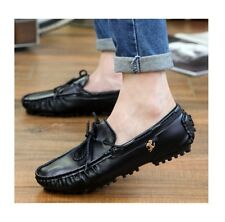 2015 mens shoes leather loafers sport driving boats casual moccasins flats
