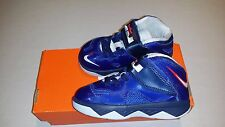 NEW Nike Lebron James Soldier 7 (TD) Toddler Shoes Blue 616987 Size 5C 7C 8C 9C