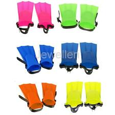 Swimming Diving Snorkeling Learning Fins Toddler Kids Adult Floating Flippers