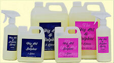 PIG OIL & SULPHUR - The Pig Oil Company - Ideal for Horses Mane and Feathers