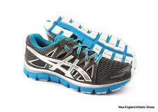 Asics women Gel-Blur33 2.0 running shoes - Titanium / Lightning / Elec Blue $100