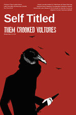 Them Crooked Vultures Poster - Self TItled - Jack of All Posters