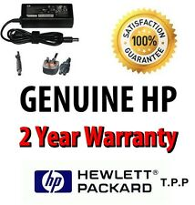 Genuine HP Compaq Laptop AC Adapter/Charger + UK Mains Lead Select Your Model