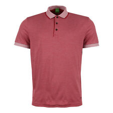 New Mens Hugo Boss Green  Polo Shirt – C-Janis Red   Short sleeve  Collared