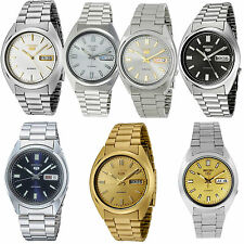 Seiko 5 Mens Stainless Steel Bracelet Automatic Watch £129