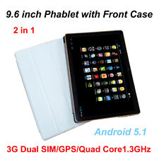 9.6'' Inch Android 5.1 Tablet PC 16GB Quad Core 3G Dual SIM GPS IPS HD Phablet
